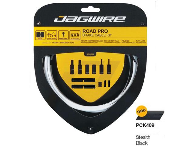 Jagwire Road Pro Kit de câbles de frein, stealth black